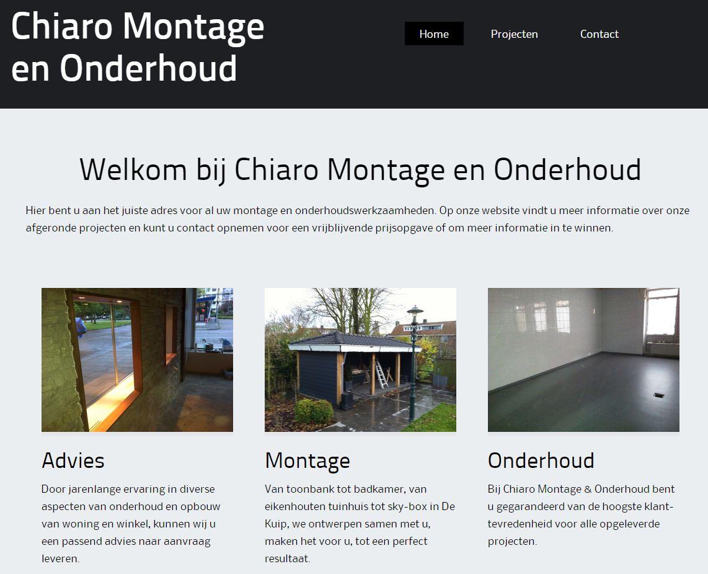 Showcase Chiaro Montage en Onderhoud