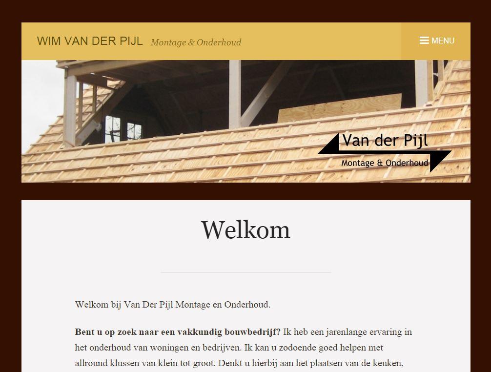 Van Der Pijl Montage en Onderhoud
